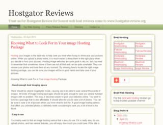hostgator-review.org screenshot