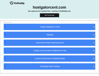 hostgatorcent.com screenshot