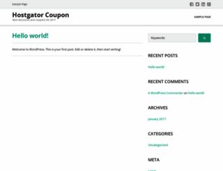 hostgatorcoupon.co.in screenshot