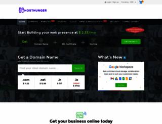 hosthunger.com screenshot