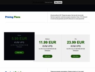 hostineuro.com screenshot
