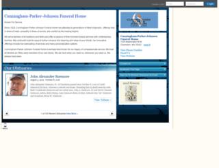 hosting-19171.tributes.com screenshot