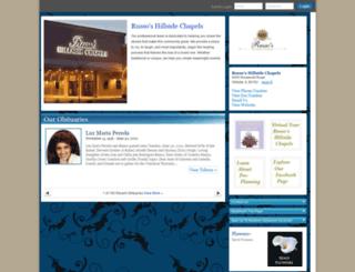 hosting-25627.tributes.com screenshot