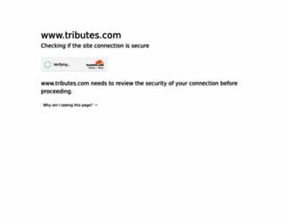 hosting-25635.tributes.com screenshot
