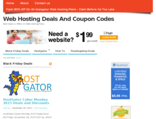 hosting-coupon-code.com screenshot