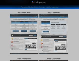 hosting-landing.webfactoryltd.com screenshot