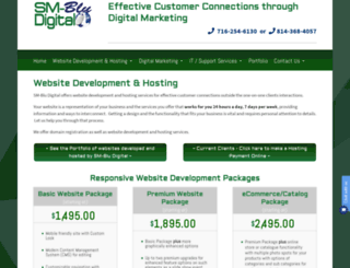 hosting.blumenthals.com screenshot