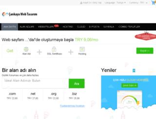 hosting.cankayawebtasarim.com screenshot