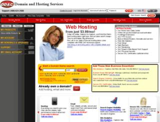 hosting.dugancom.com screenshot