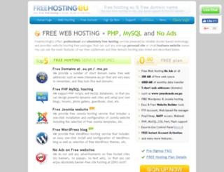 hosting.eu.pn screenshot