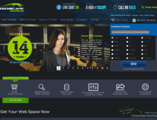 hosting.techscape.co.id screenshot
