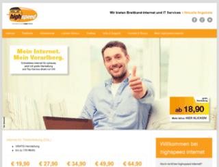 hosting.vol.at screenshot
