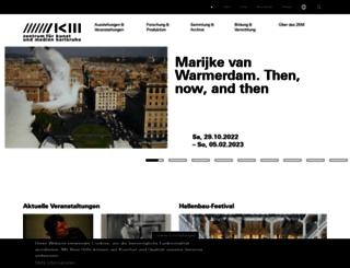 hosting.zkm.de screenshot