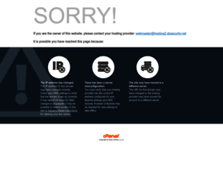 hosting2.dzsecurity.net screenshot