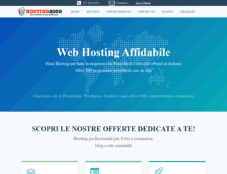 hosting2000.it screenshot