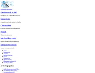 hosting4all.ro screenshot