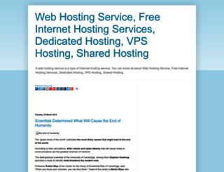 hosting4sure.blogspot.com screenshot