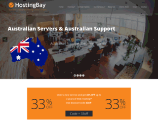 hostingbay.net screenshot