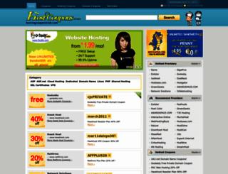 hostingcouponsclub.com screenshot