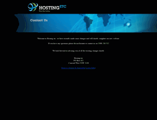 hostingetc.com screenshot