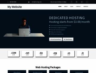 hostinggeek.org screenshot