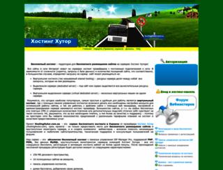 hostinghutor.com.ua screenshot