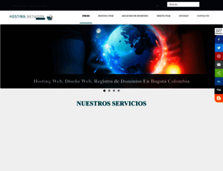 hostingnetworkcolombia.com screenshot