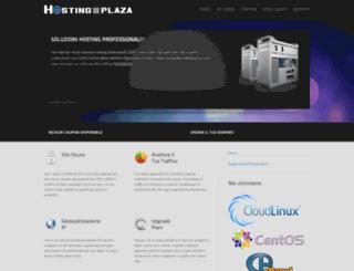 hostingplaza.org screenshot
