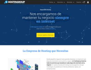 hostingroup.com screenshot