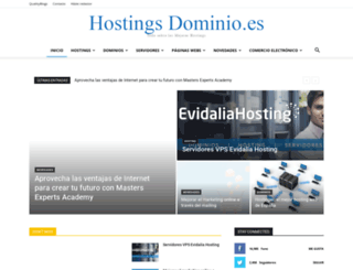 hostingsdominios.es screenshot