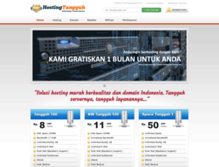 hostingtangguh.com screenshot