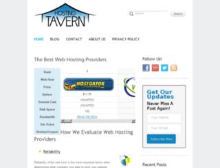 hostingtavern.com screenshot