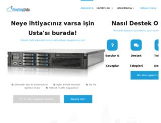 hostingusta.com screenshot