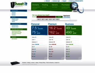 hostit.bg screenshot
