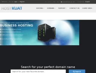 hostkuat.com screenshot