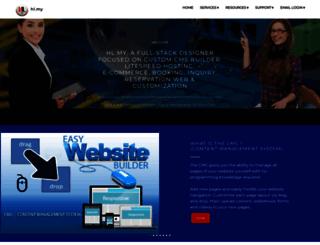 hostlaju.com screenshot