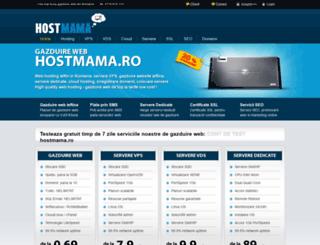hostmama.ro screenshot