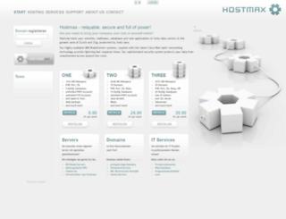 hostmax.ch screenshot