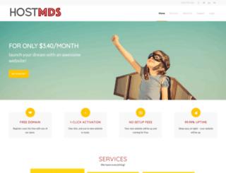 hostmds.com screenshot