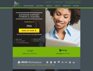 hostmonster.com screenshot
