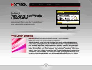 hostnesia.com screenshot