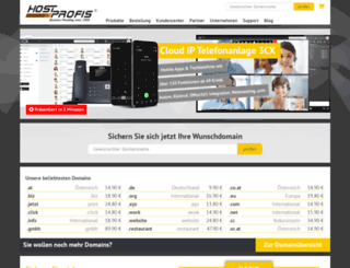 hostprofis.com screenshot