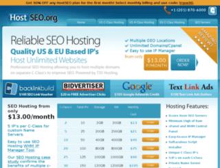 hostseo.org screenshot
