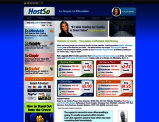 hostso.com screenshot
