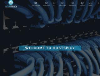 hostspicy.com screenshot