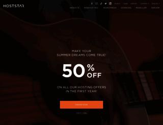 hoststar.at screenshot