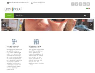 hostvideo.com.br screenshot