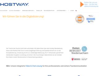hostway.de screenshot