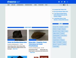 hostze.blogspot.com screenshot