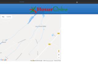 hosur.hosuronline.com screenshot